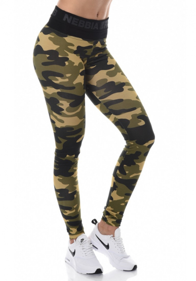 Nebbia Camo Tights