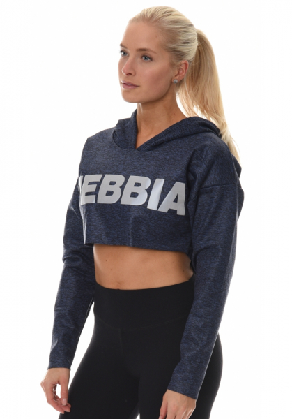 Nebbia Cropped Hoodie