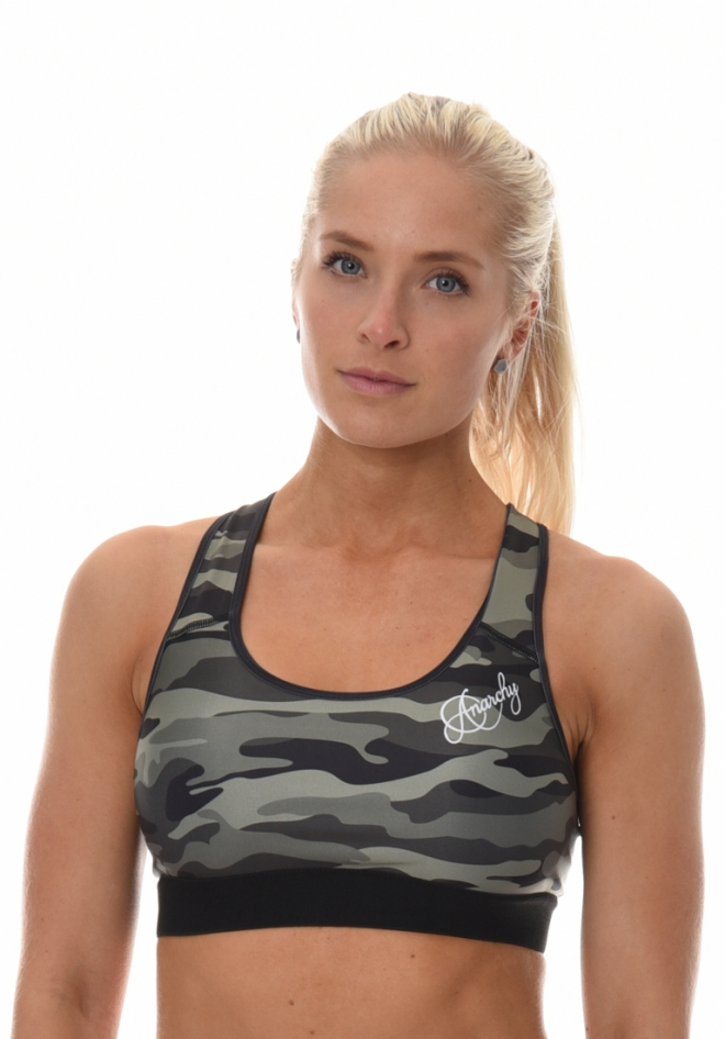 e114ac5f57 Anarchy Apparel - Commando Sports Bra - Onemorerep.se