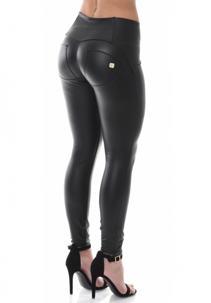 WR.UP® Eco Leather Shaping Effect - Mid/High Waist